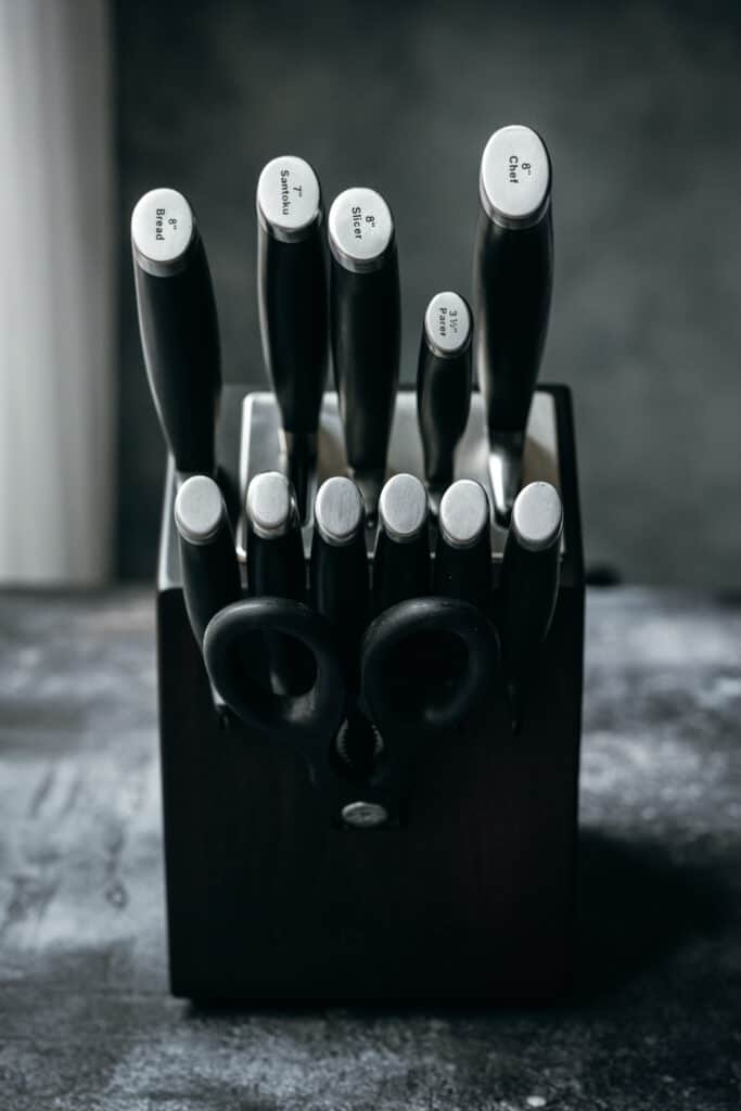 calphalon knife set