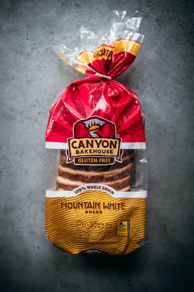 Loaf of Canyon Gluten Free Mountain White Bread